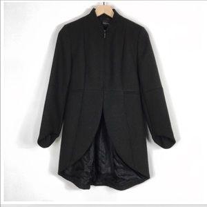 NWOT Zara Basic Blk Tailored Blazer Jacket W/Tails